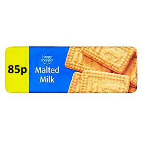 Malted Milk Biscuits Happy Shopper 200g (1 Pack)